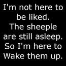 The Sheeple's Wake Up Call